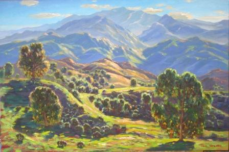 Springtime in Malibu Creek 24x36